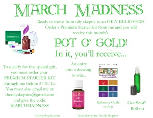 March Madness promo copy